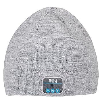 b761e56e6dd August EPA20 Bluetooth Beanie Hat - Keep Your Ears  Amazon.co.uk   Electronics