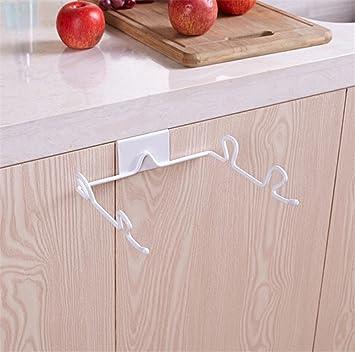 Küche Müllsackhalter Müllsack Lagerung Rack Ohne Bohren Metall ...