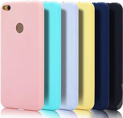 6x Cover Huawei P8 Lite 2017, CaseLover Custodia per Huawei P8 Lite 2017 (5.2 Pollici) Ultra Sottile Satinate Opaco Morbido TPU Silicone Protettiva ...