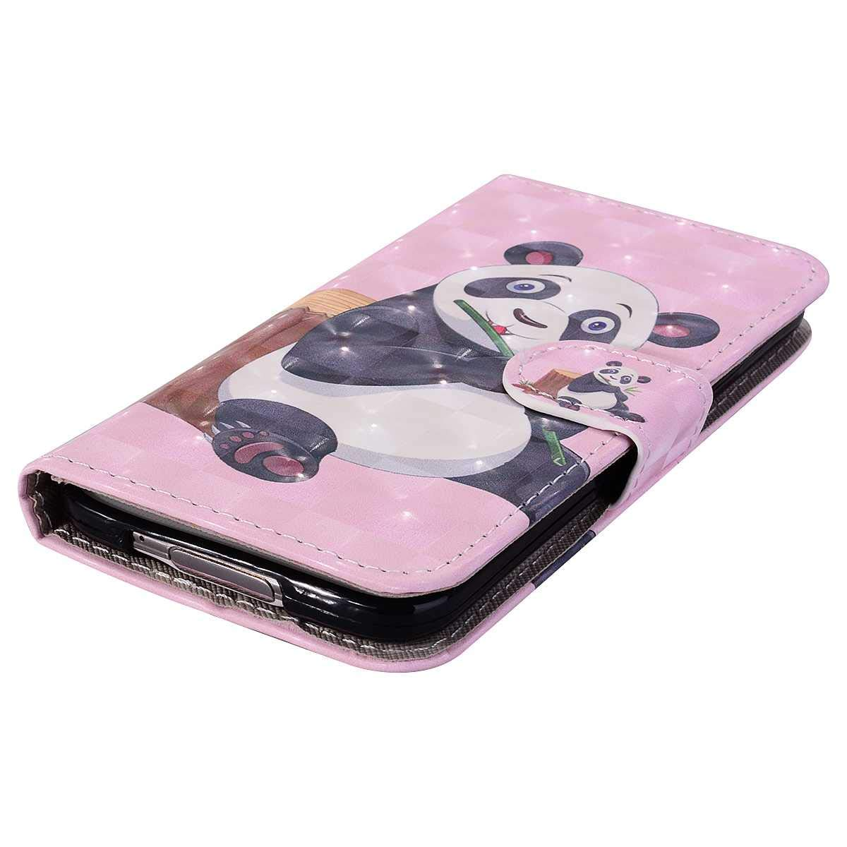 Galaxy S5 Shockproof TPU Protective Cover with Magnetic Closure Bear Village/® Case for Samsung Galaxy S5 Folding Anti Scratch PU Leather Case Rose