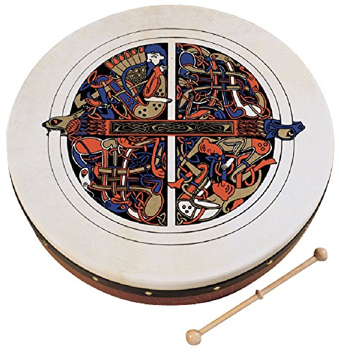 Waltons Bodhrán 8'' (Skellig) - Handcrafted Irish Instrument - Crisp & Musical Tone - Hardwood Beater Included w/Purchase by Waltons