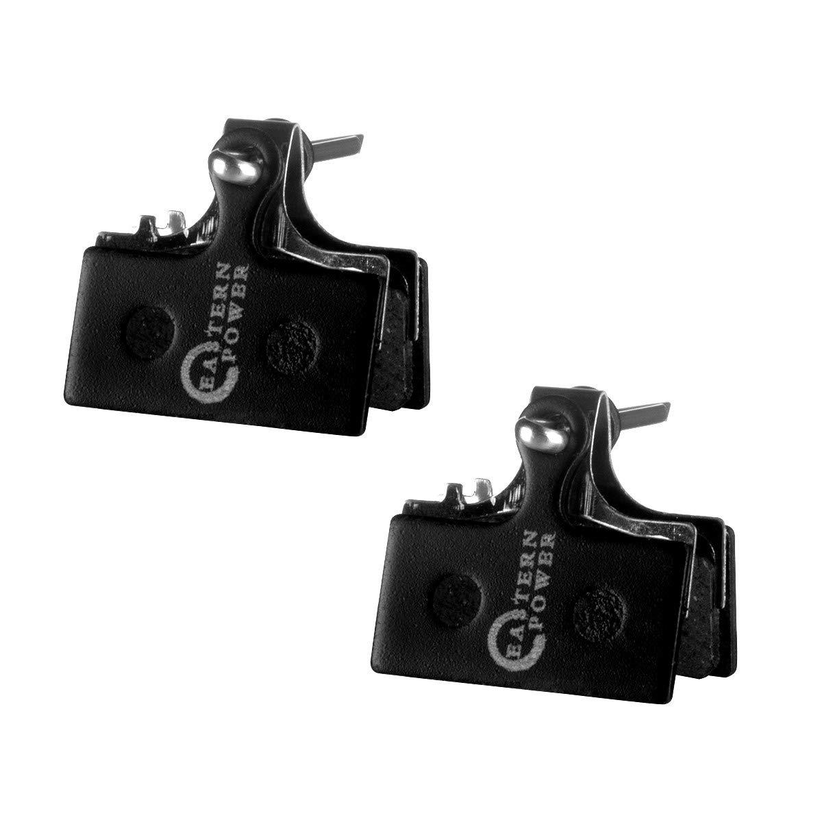 EASTERN POWER 2 Pares Pastillas de Freno para Shimano XT M8000 M785 XTR M9000 M9020 M985 SLX M7000 M675 M666 Deore M615 Resina//Semi-met/álico//Metal
