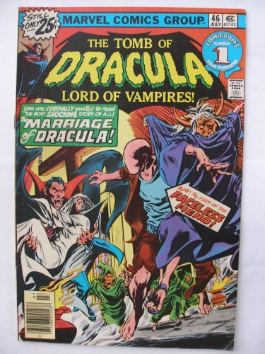The Tomb of Dracula #46 (COMICDOM'S #1) (THE MARRIAGE OF DRACULA!, VOL. 1)