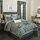 Beautyrest Alexina Comforter Set, Queen, Peacock