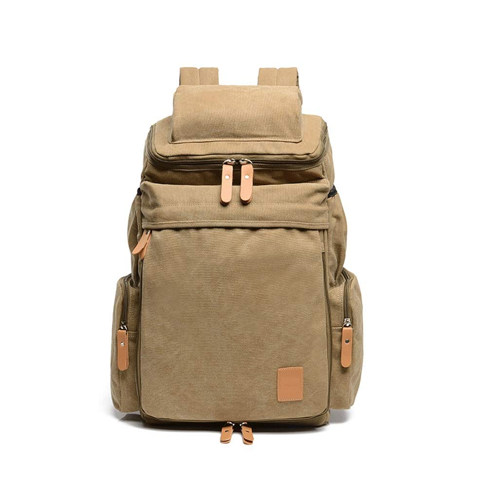 Retro Travel Bag Color : A Blingstars Outdoor Leisure Backpack Trend Canvas Backpack