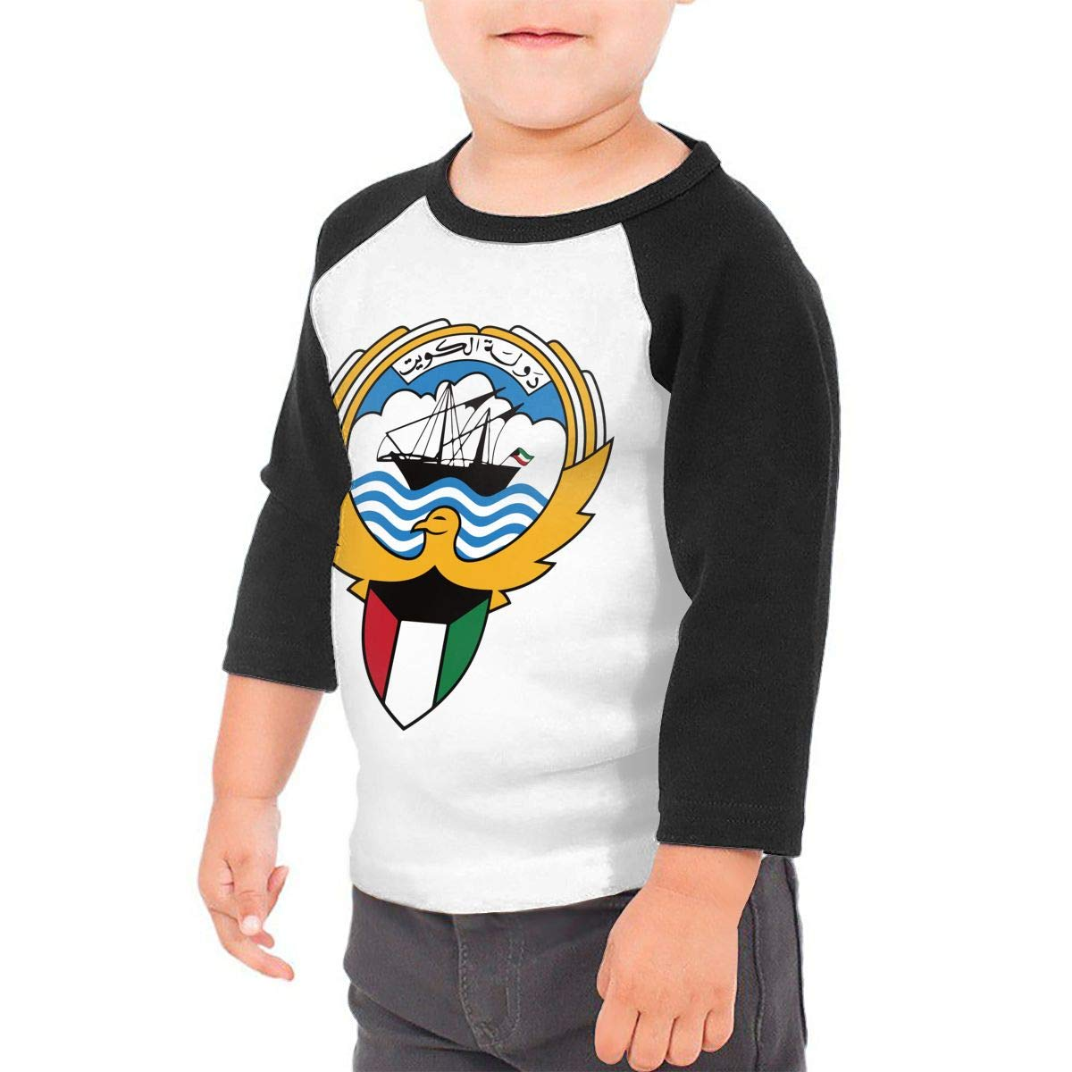 Sailing Logo Unisex 100/% Cotton Childrens 3//4 Sleeves T-Shirt Top Tees 2T~5//6T