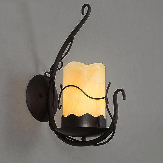Marble lampshade decorative wall lamp,E27: Amazon.co.uk: Lighting