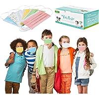 OPALLEY 10/20/30/50 Piezas Niños Protección Transpirables Desechable Visage_Mascarillas para Niños Infantiles Multicolor…