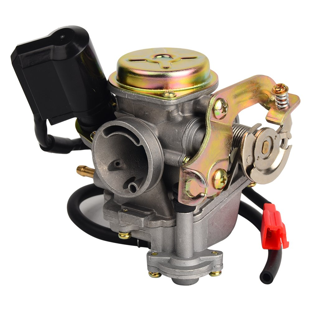 HIFROM TM Carb Carburetor for Scooter 50cc Chinese GY6 139QMB Moped 49cc 60cc by HIFROM (Image #4)