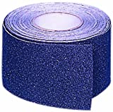 Mutual 17768 Aluminum Oxide Non Skid Abrasive Safety Tape, 60' Length x 2'' Width, Black
