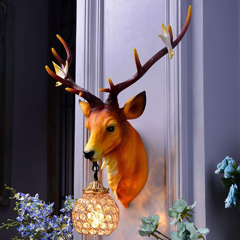 kreative Wohnzimmer Wmshpeds Geweih hirschkopf Villa Europ/äische Retro Pers/önlichkeit Kunst American Style Restaurant Bar