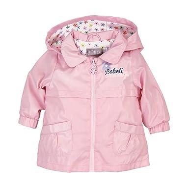 bf3aef9b3e Boboli Boboli Baby Mädchen Regen-Jacke mit Kapuze rosa Gr. 62-92 62 ...