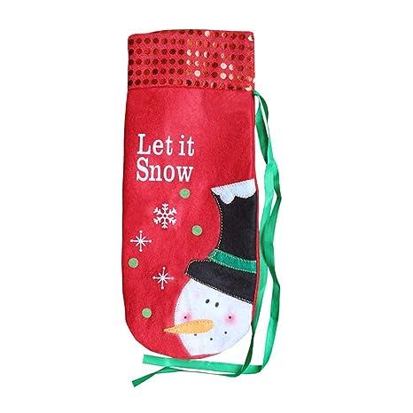 Bolsas para Botellas, Navidad Bolsas de Regalo para Vino ...