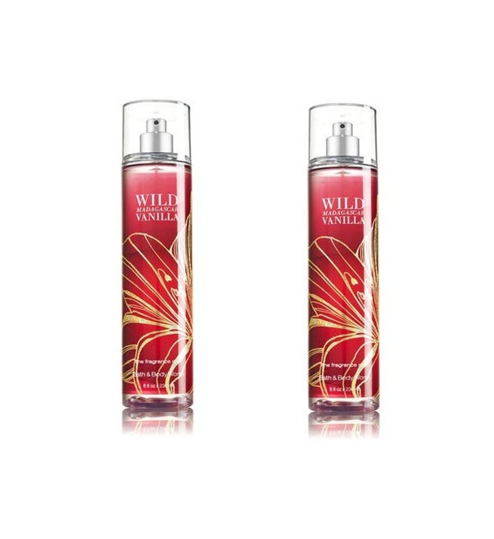 Bath & Body Works Wild Madagascar Vanilla Fine Fragrance Mist Pack of 2