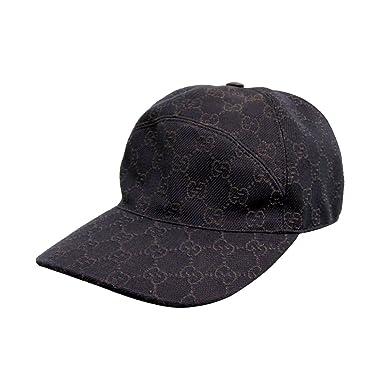 gucci baseball hat price cap black unisex brown denim large