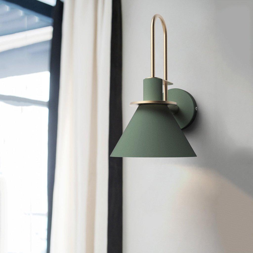 Amazon.com: LCMJ Wall Lamp Bedroom Minimalist Bedside Reading Light ...