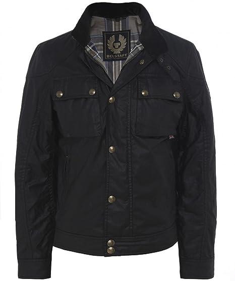ee57fee2d8 Belstaff Racemaster Wax Jacket (Brown, 46) at Amazon Men's Clothing ...