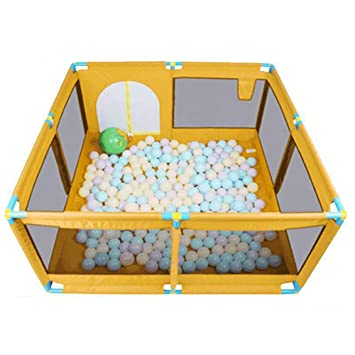 Amazon Com Baby Playpen Kids Activity Centre Safety Play Yard Home