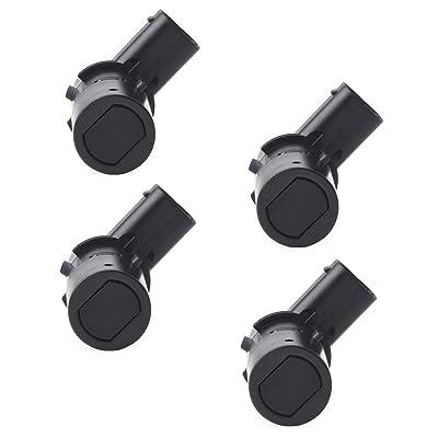 Issyzone 4Pcs Backup Sensor for Ford F150 Expedition Explorer Escape Rear Parking Assist Sensor Reverse Sensor 3F2Z15K859BA 4F2315K859AA T36006: Automotive
