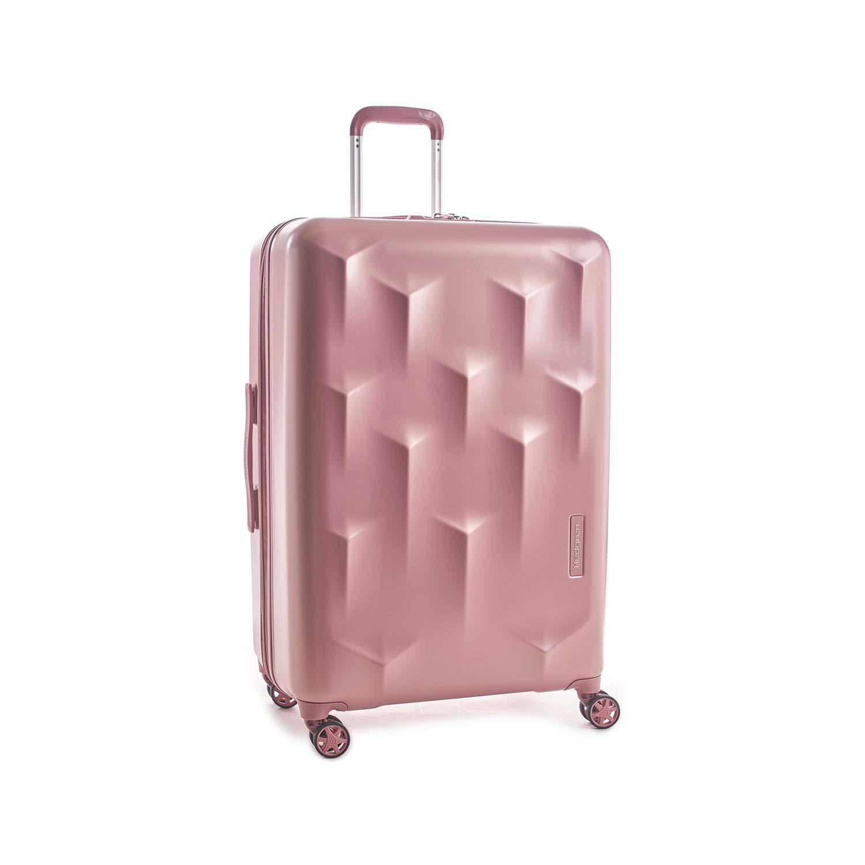 "Hedgren Edge Carve Hardside Expandable Spinner Suitcase, 10.8 lb, 29"", Blush"