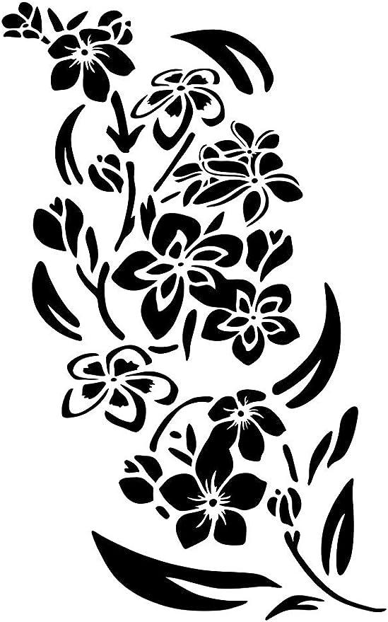 L/öwenzahn-Sommer-Blumen-Mylar Airbrush Malerei Wand-Kunst-Handwerk-Schablone A2 Gr/ö/ße Stencil - Large