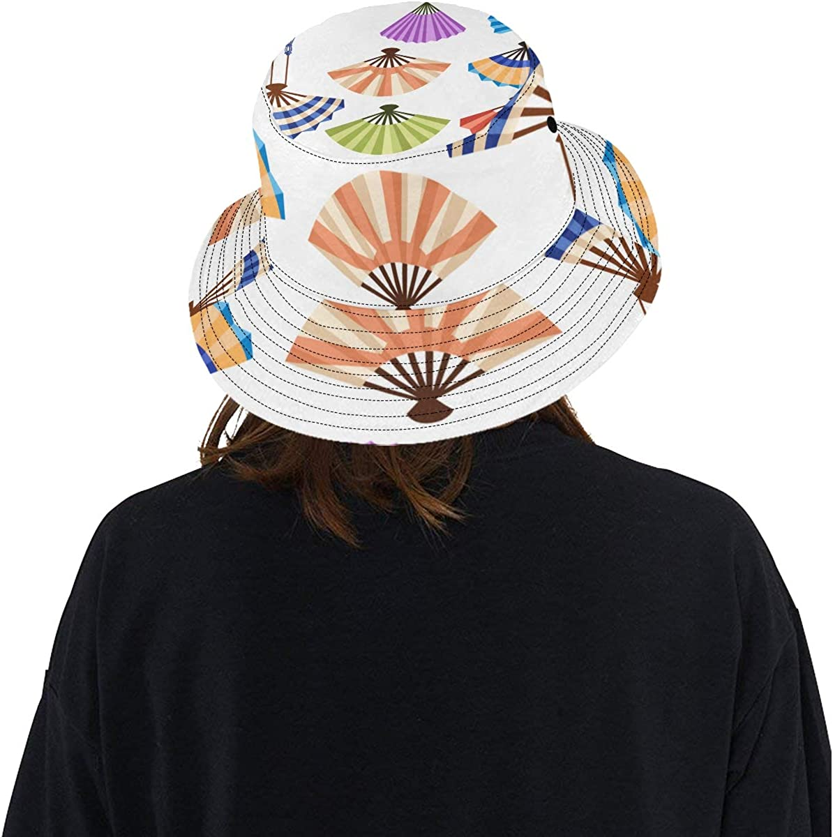 Top Hats Summer Unisex Bucket Hat Fan Various Style Colorful Reversible Fisherman Cap Beach Fishing Picnic Hat for Lady Fisherman