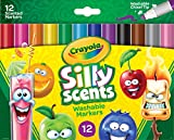 Toys : Crayola Silly Scents, Washable Scented Markers, 12 Ct