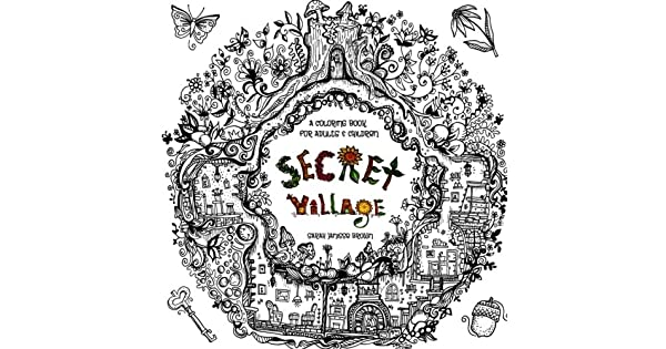 Amazon.com: Secret Village - A Coloring Book Adventure ...