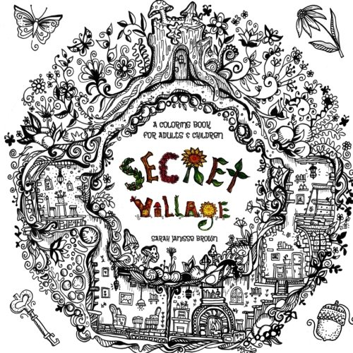 Village Coloring Book - 5