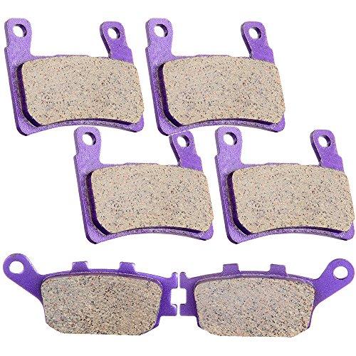 - SCITOO Kevlar Carbon Fiber Brake Pads Fit for 99 00 Honda CBR600F4,01 02 03 04 05 06 Honda CBR600F4i,03 04 Honda CBR600RR