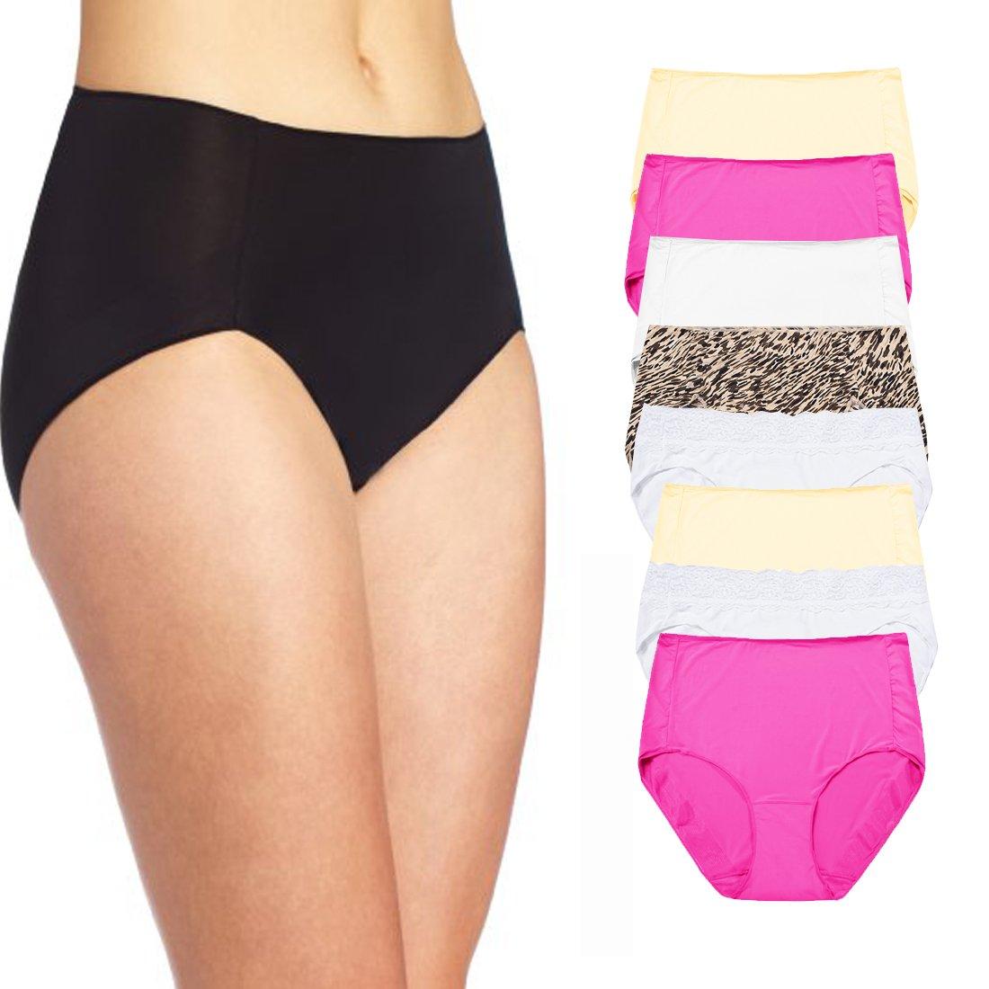 Mixed Designer Brands Bulk Savings Pack - 8 Womens Panties Underwear    Briefs M 6 Multicolor at Amazon Women s Clothing store  611bbc2dfe