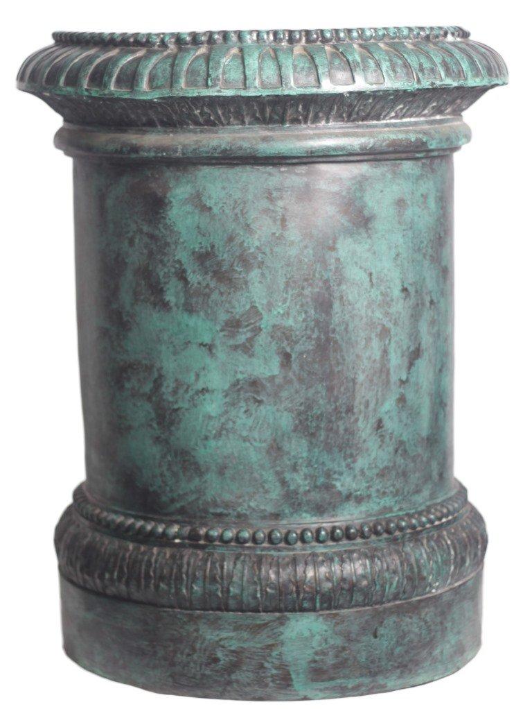 World of Bronze Statues Warehouse RGA0153 Bronze Column Pedestal, 48-Inch