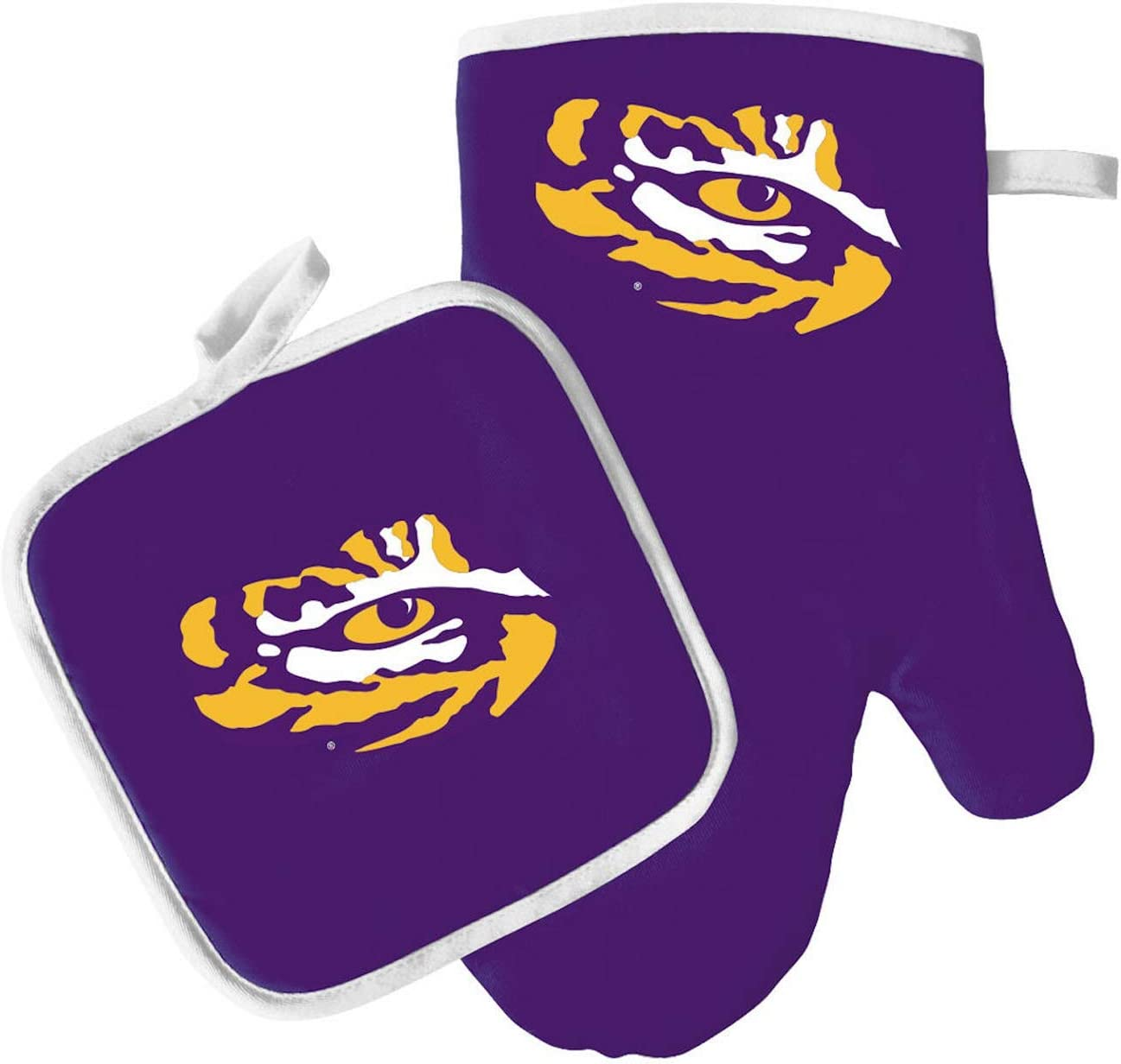 LSU Tigers Oven Mitt and Pot Holder