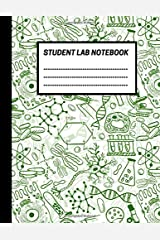 Student Lab Notebook: Biology Lab notebook, 1/4 inch square grid lab journal Log book for Science/Research students (8.5 x 11'', 150 pages) Paperback