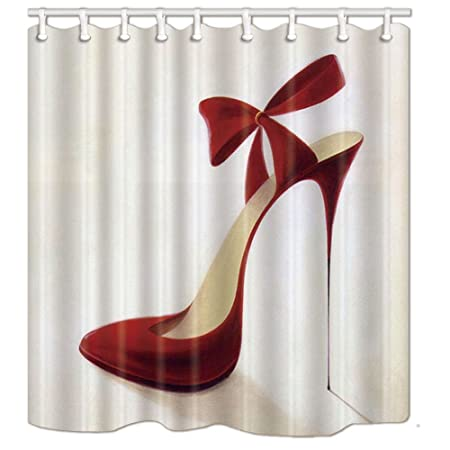 53dfb5afa91e6 KOTOM Teen Girls Decor Fashion Stylish Red High Heel Shoes For ...