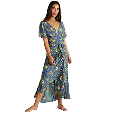 hot sale online buying now buying new BANANA MOON GULIA ALANEA, Robe, Bleu, Taille Fabricant: 40 ...