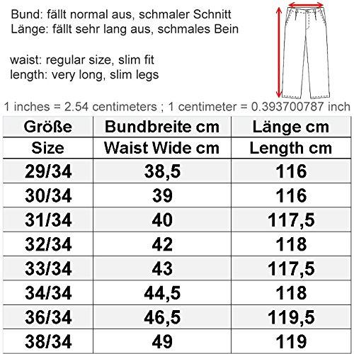 Trueprodigy Herren Jeanshose Arik Straight Fit dunkelblau - 36/34