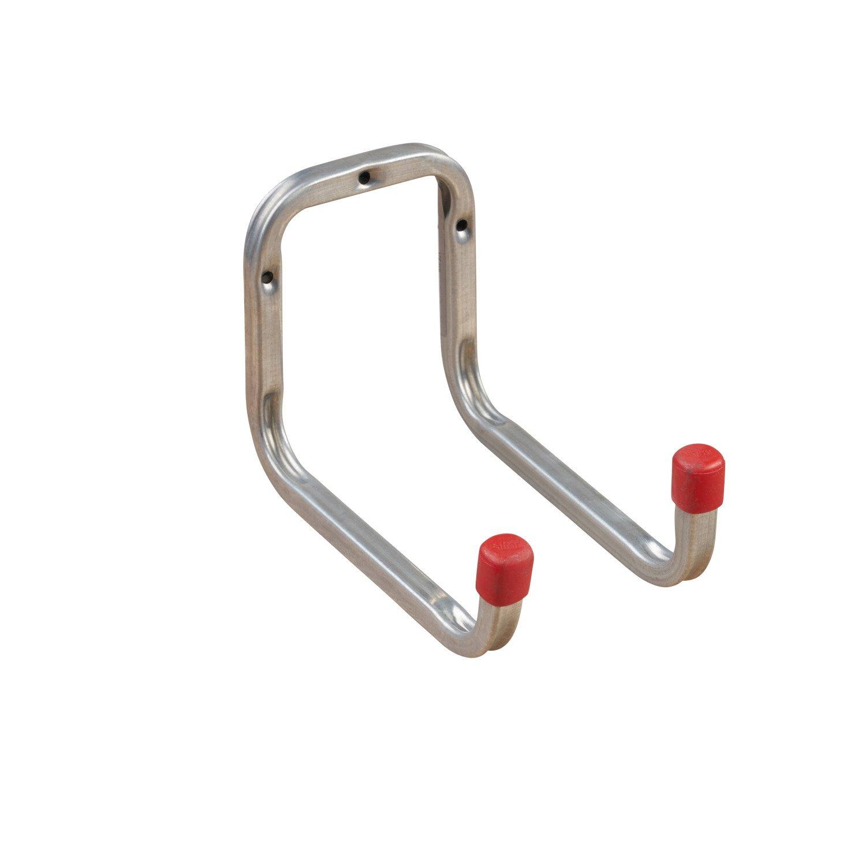 gedotec® Profesional dispositivo gancho multiusos Ganchos STI pared Line Acero galvanizado, profundidad 175x altura 80mm, resistencia 30kg, marca de calidad para tu salón profundidad 175x altura 80mm resistencia 30kg