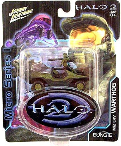 Halo 2 Warthog - JOHNNY LIGHTNING HALO 2 MICRO SERIES MI2 LRV WARTHOG VEHICLE