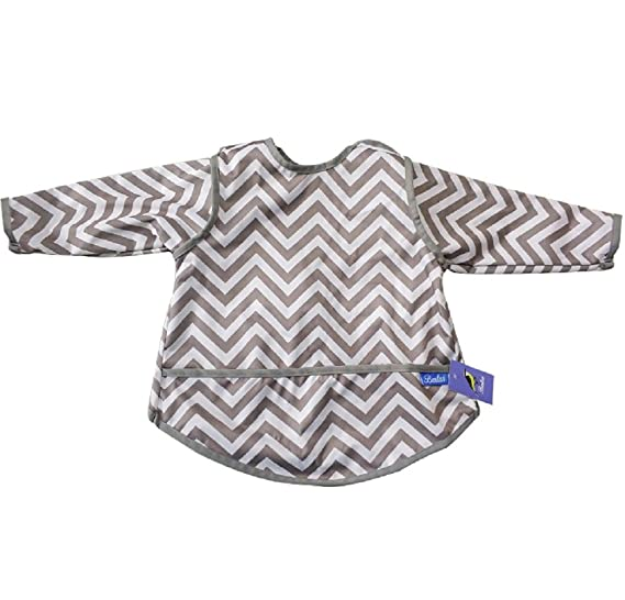 Amazon.com  Waterproof Long Sleeved Bib With Pocket ae2739b4a8bf