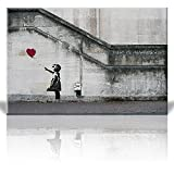 wall26 - There is Always Hope Banksy Street Art - Canvas Art Wall Decor -32''x48''