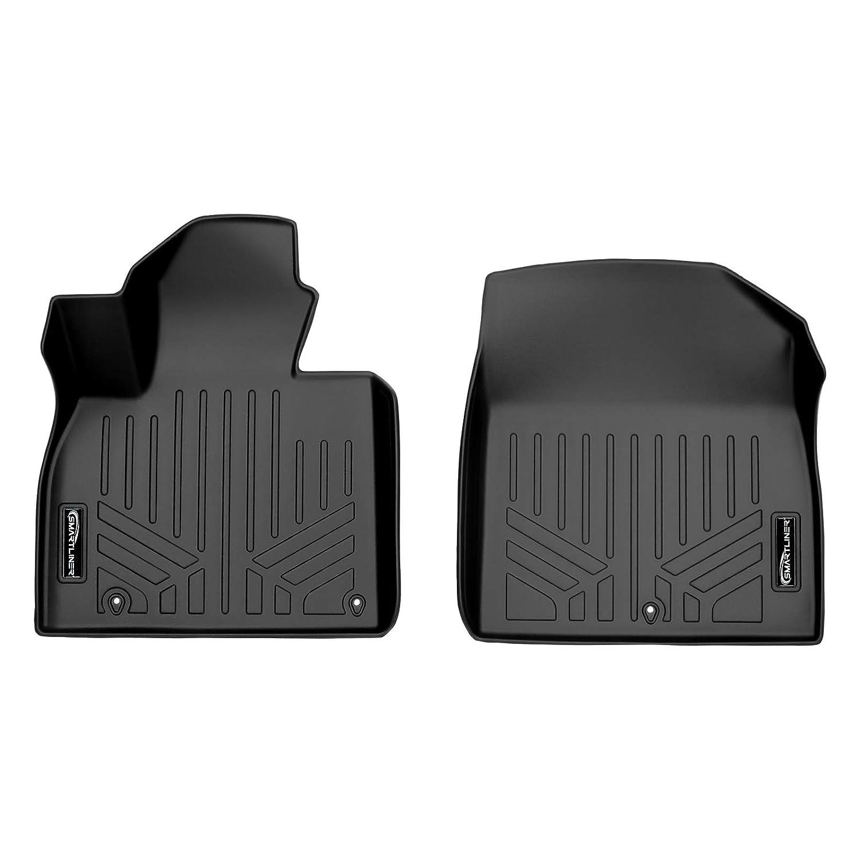SMARTLINER Custom Fit Floor Mats 1st Row Liner Set Black for 2020 Kia Telluride