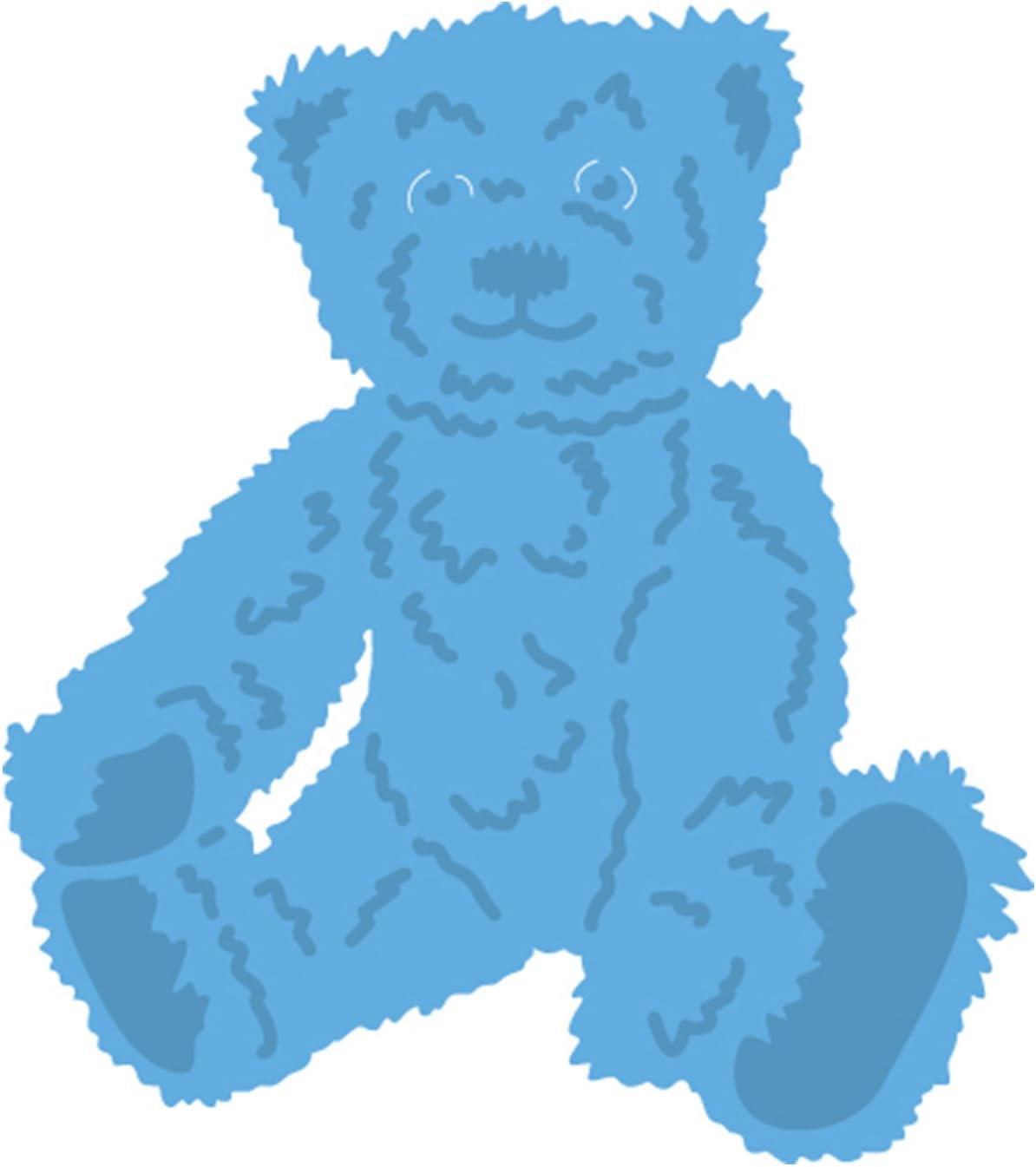 Motivlocher  Motivstanzer Teddy Bär  Teddybär 13 mm  Kartengestaltung  Basteln