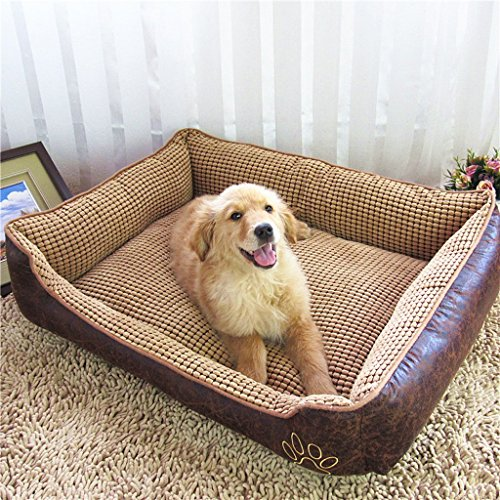 Amazon.com : YD Pet mat-Kennel Removable and Washable Summer Golden Retriever Pet Dog Mattress Small Medium Large Dog Dog Supplies Four ...