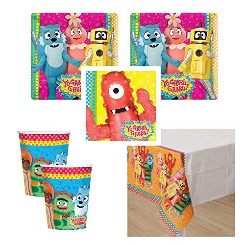 yo gabba gabba birthday supplies - 8