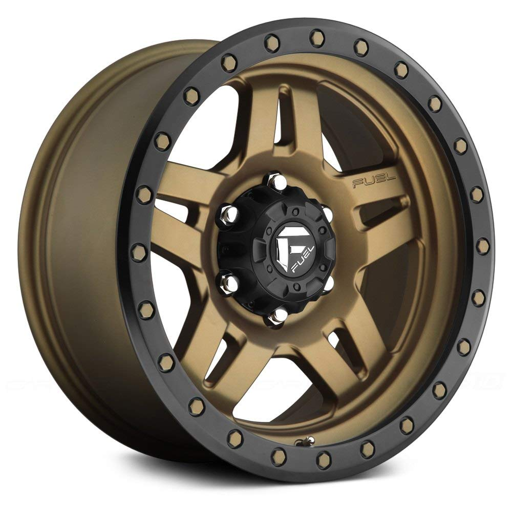 Fuel D583 Anza Сustom Wheel - Bronze 18'' x 9'', 1 Offset, 8x170 Bolt Pattern, 125.1mm Hub
