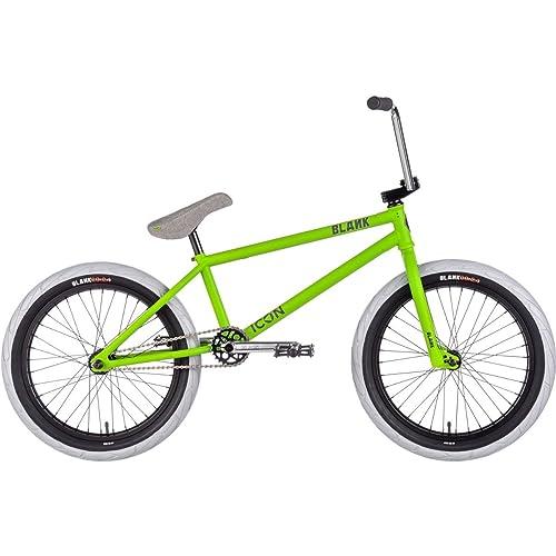 """Blank Icon BMX Bike 2018 20.85"""" frame 20"""" wheel matte lime green"""