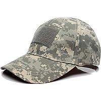 QMFIVE Sombrero Multicolor al Aire Libre del Sombrero de la protección Solar para el acampamento táctico de la Subida…