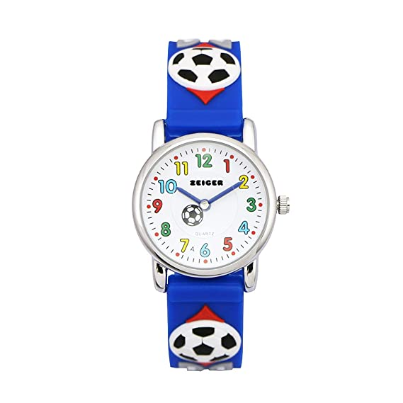 Zeiger Fußball Kinderuhr Jungen Armband Uhr Fußball Kinder ...