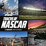 img - for 2018 Tracks of NASCAR Wall Calendar book / textbook / text book